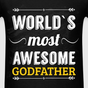 World's most awesome godfather - Men's T-Shirt