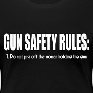 GUN SAFETY RULES T-Shirts - Women's Premium T-Shirt
