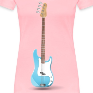 Bass Guitar - Women's Premium T-Shirt