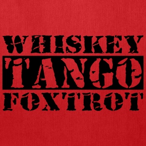Whiskey Tango Foxtrot WTF Bags & backpacks - Tote Bag