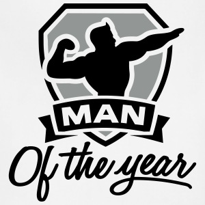 Man of the year 2 clr Aprons - Adjustable Apron