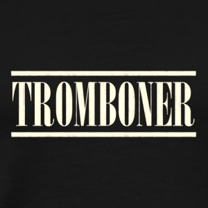 old tromboner - Men's Premium T-Shirt