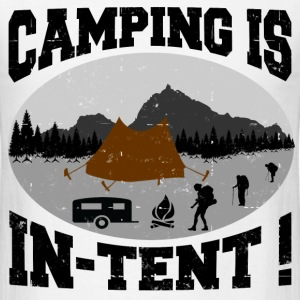 CAMPING IS INTENT 1.png T-Shirts - Men's T-Shirt