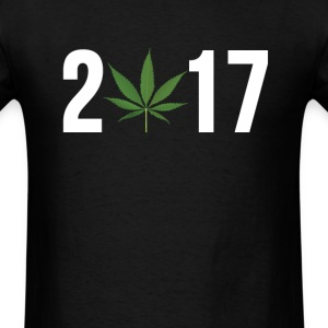 2017 POT LEAF T-Shirts - Men's T-Shirt