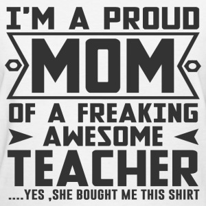 mom teacher 2.png T-Shirts - Women's T-Shirt