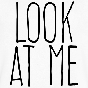 look at me T-Shirts - Men's V-Neck T-Shirt by Canvas