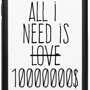 all i need is ten millions dollars Phone & Tablet Cases - iPhone 6/6s Rubber Case