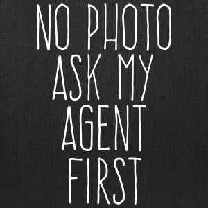 no photo ask my agent Bags & backpacks - Tote Bag