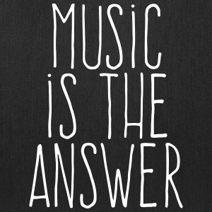 music is the answer Bags & backpacks - Tote Bag