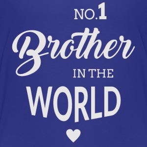 No.1 Brother in the world Kids' Shirts - Kids' Premium T-Shirt