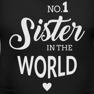No.1 Sister in the world T-Shirts - Women's Maternity T-Shirt