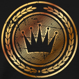 symbol-royal-crown - Men's Premium T-Shirt