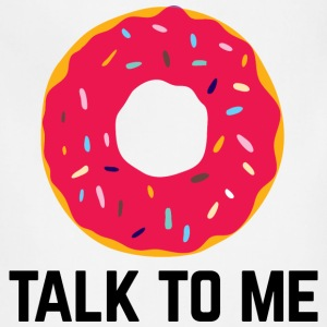 Donut Talk To Me Funny Quote Aprons - Adjustable Apron