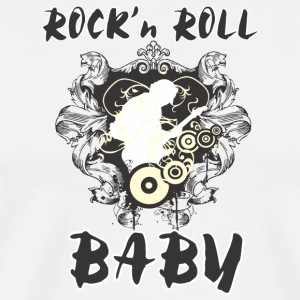 ROCK'N ROLL BABY - Men's Premium T-Shirt