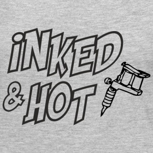 Inked and hot Long Sleeve Shirts - Women's Premium Long Sleeve T-Shirt