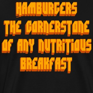 Pulp Fiction Quote - Hamburgers... T-Shirts - Men's Premium T-Shirt