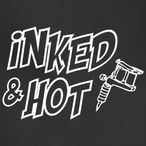 Inked and hot Aprons - Adjustable Apron