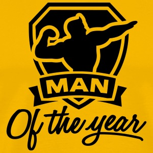 Man of the year 1 clr T-Shirts - Men's Premium T-Shirt