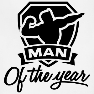 Man of the year 1 clr Aprons - Adjustable Apron