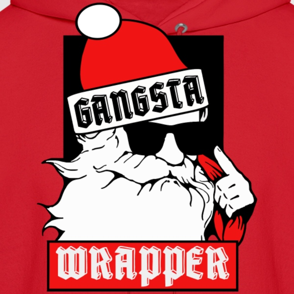 Gangsta Wrapper Hoodies - Men's Hoodie