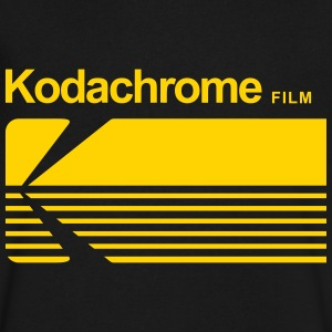 Kodachrome T-Shirts - Men's V-Neck T-Shirt by Canvas