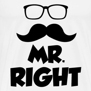 MR. 1.PNG T-Shirts - Men's Premium T-Shirt
