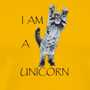 I AM A UNICORN CAT - Men's Premium T-Shirt