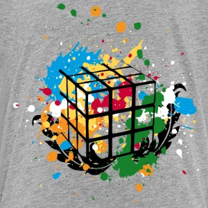 Rubik's Cube Colourful Splatters - Toddler Premium T-Shirt