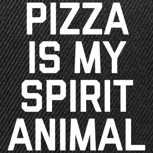 Pizza Spirit Animal Funny Quote Sportswear - Snap-back Baseball Cap