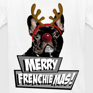 AD Merry FrenchieMas! Kids' Shirts - Kids' T-Shirt