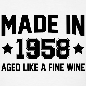 Made In 1958 Aged Like A Fine Wine T-Shirts - Men's T-Shirt