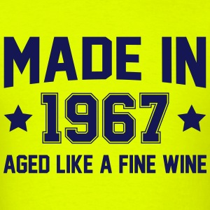 Made In 1967 Aged Like A Fine Wine T-Shirts - Men's T-Shirt