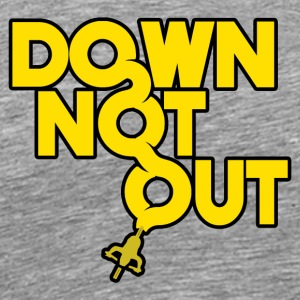 DOWN_NOT_OUT_-_MTB - Men's Premium T-Shirt