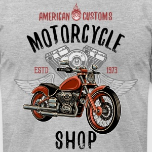 American Customs - Men's T-Shirt by American Apparel
