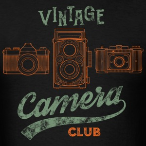 Vintage Camera Club - Men's T-Shirt