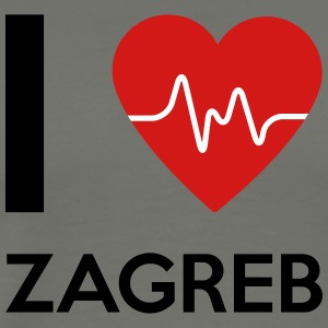 I Love Zagreb - Men's Premium T-Shirt