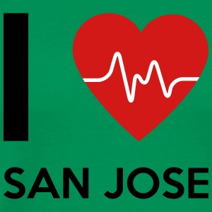I Love San Jose - Men's Premium T-Shirt