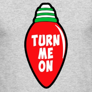 Turn Me On - Men's Long Sleeve T-Shirt by Next Level