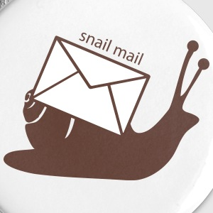 Snail mail Buttons - Small Buttons