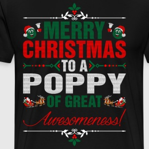 Merry Christmas To A Poppy Of Great Awesomeness T-Shirts - Men's Premium T-Shirt