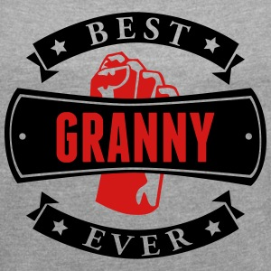 Best Granny Ever T-Shirts - Women´s Rolled Sleeve Boxy T-Shirt
