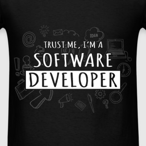 Software developer - Trust me I'm a software devel - Men's T-Shirt