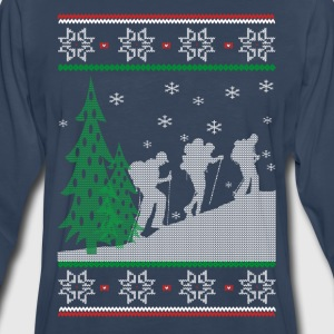 Hiking Christmas - Men's Premium Long Sleeve T-Shirt