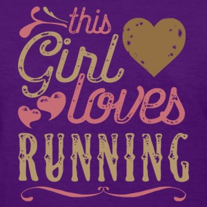 This Girl Loves Running T-Shirts - Women's T-Shirt