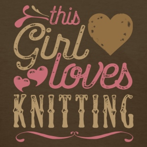 This Girl Loves Knitting T-Shirts - Women's T-Shirt