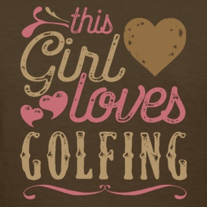 This Girl Loves Golfing Golf T-Shirts - Women's T-Shirt