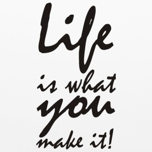 life is what you make it Other - Pillowcase