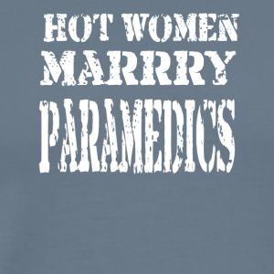 Hot Women Paramedics - Men's Premium T-Shirt