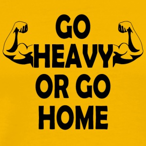 Go Heavy 01 - Men's Premium T-Shirt