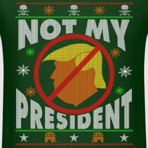 Trump Not My President Ugly Christmas sweater T-Shirts - Men's T-Shirt